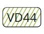 VD44 - Verde Fluorescente