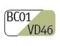 BC01/VD46 - Blanco/Verde pastel