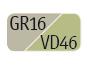 GR16/VD46 - Light dove grey/Pastel green