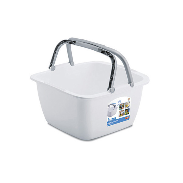 Luna square superbasin with handles
