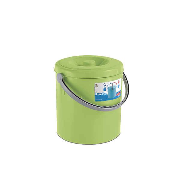 """Eureka"" dustbin with cover - 20 lt"