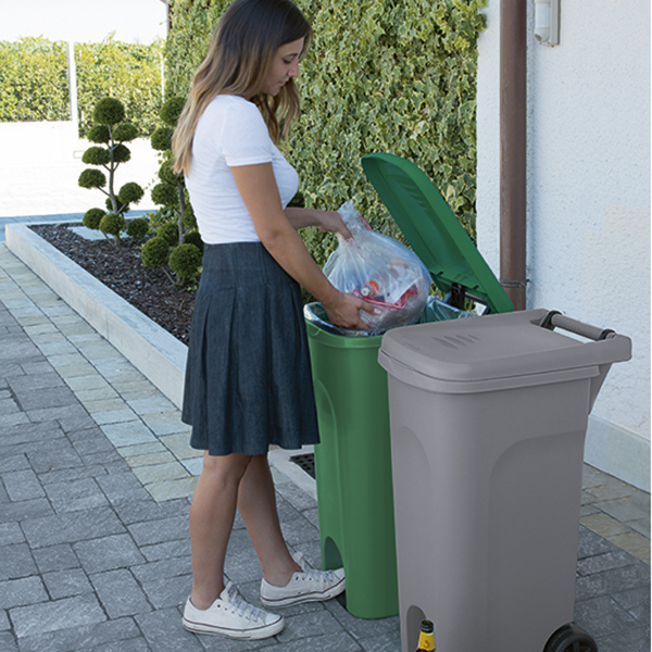 Urban Eco System 80 lt con pedale