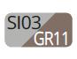 SI03/GR11 - Silver/Dove grey