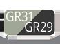 GR31/GR29 - Foggy Green/Grigio Ardesia