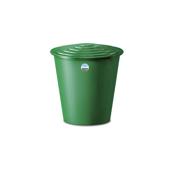 Set contenitore per acqua lt 210 con coperchio e rubinetto