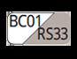 BC01/RS33 - White/Powder pink
