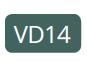 VD14 - Vert métallisé
