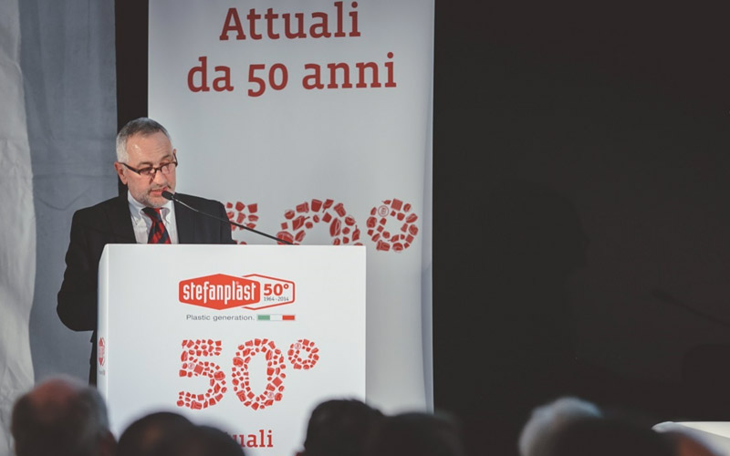 Stefanplast celebrates 50 years of Made in Italy