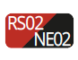 RS02/NE02 - Red/Black