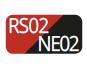 RS02/NE02 - Red/Black