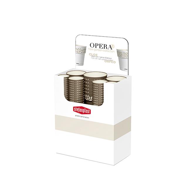 Espositore Vasi Opera CLOE verdone