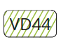 VD44 - Fluoreszierendes Grün