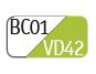 BC01/VD42 - White/Apple green