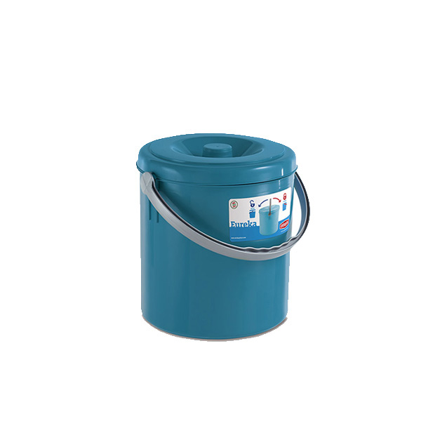 "Cubo de basura ""Eureka"" con tapa 20 l"