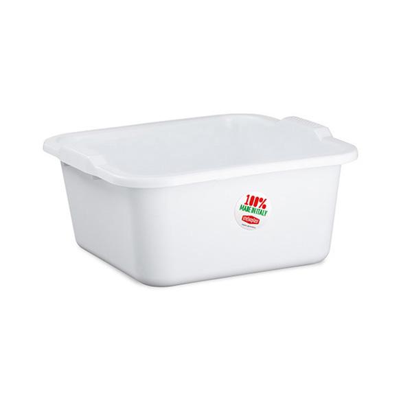 """Linea 2"" square basin - 11 lt"