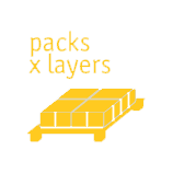 Emballages pour couches de palettes