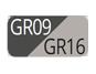 GR09/GR16 - Antracite/Tortora chiaro