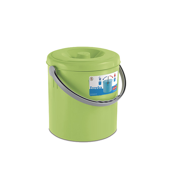 """Eureka"" dustbin with cover - 25 lt"