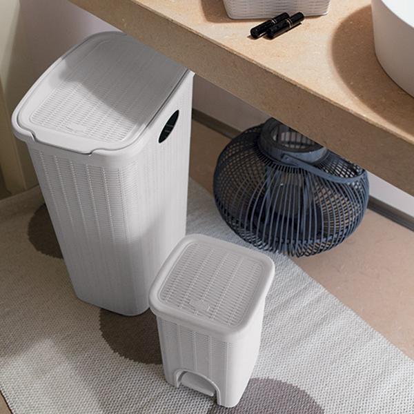 Elegance laundry hamper 36 lt