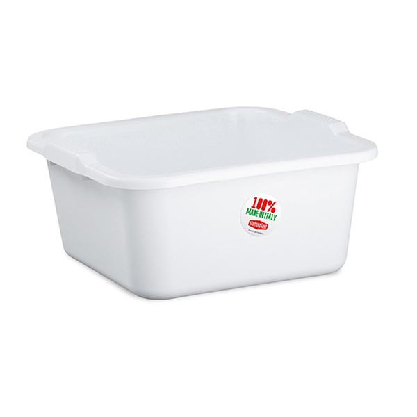 """Linea 2"" square basin - 16 lt"