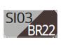 SI03/BR22 - Silver/Moka