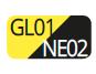 GL01/NE02 - Giallo/Nero