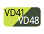 VD41/VD48 - Lime green/Pine green
