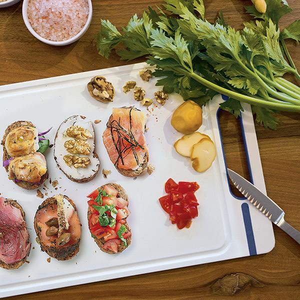 """Italian Chef"" cutting board L"