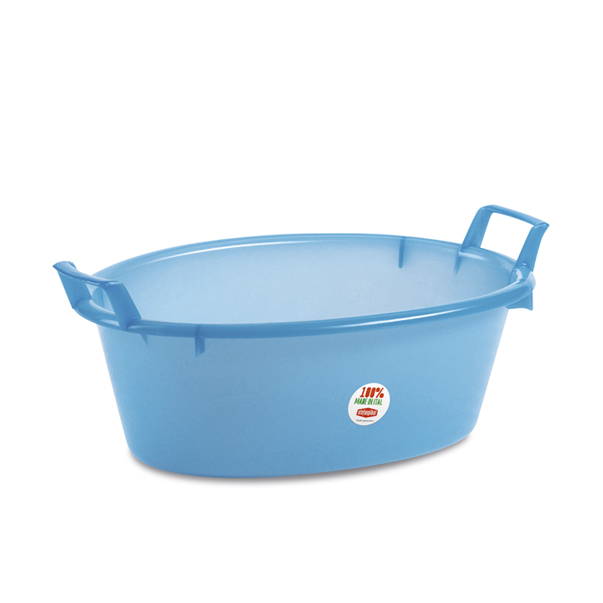 Polyethylene oval basin - 50 lt