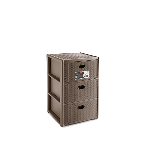Elegance 3 Drawers Unit