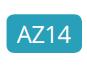AZ14 - Intense turquoise