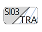 SI03/TRA - Silver/Transparent