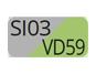 SI03/VD59 - Silver/Spring green