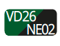 VD26/NE02 - Green/Black