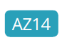 AZ14 - Intensives Türkis