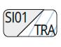 SI01/TRA - Silver/Transparent