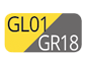 GL01/GR18 - Amarillo/Gris Polvo