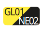 GL01/NE02 - Yellow/Black