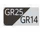 GR25/GR14 - Grafite plus/Grigio luce chiaro