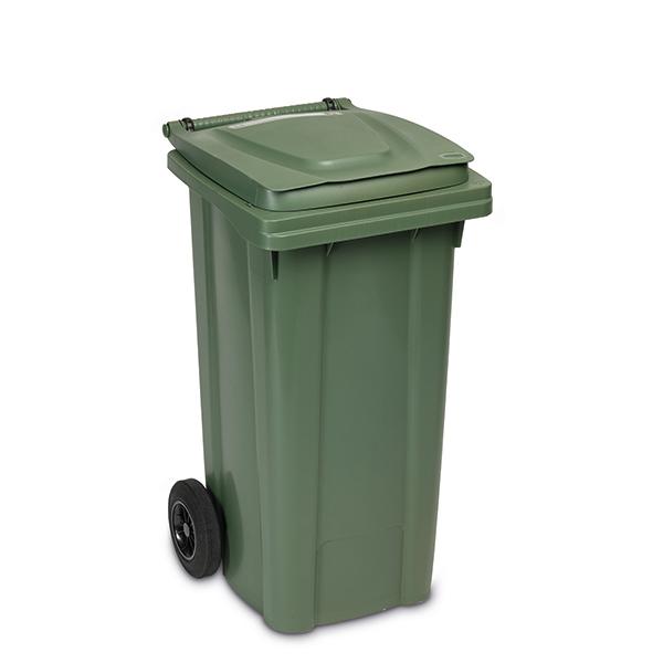 Cubo de basura con ruedas 120 lt
