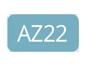 AZ22 - Bleu paradis