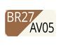 BR27/AV05 - Umber/Vanilla