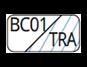 BC01/TRA - White/Transparent
